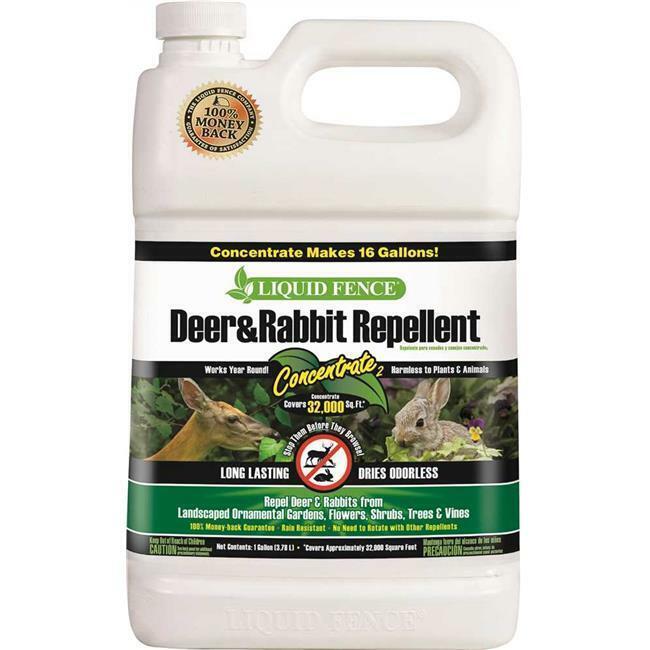 Spectrum Brands Hg-70111 Liquid Fence Deer And Rabbit Repellent Concentrate 1...