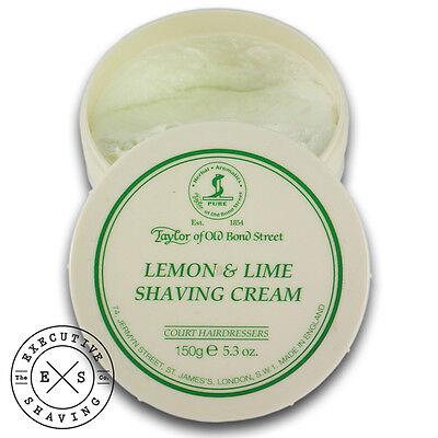 Lemon Lime Shaving Cream (Taylor of Old Bond Street Lemon & Lime Shaving Cream (tc150g-lemonandlime))