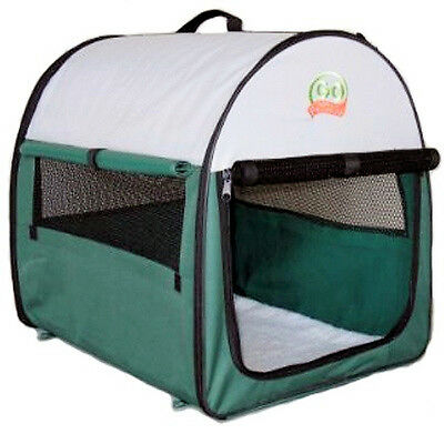 """24"""" Dog Cat Pet Bed Portable Carrier Crate Cage House AG24"""