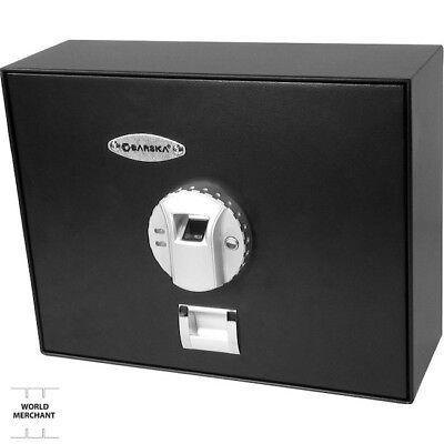 Portable Biometric Safe Small Barska Gunvault Gun Handgun Jewelry Fingerprint