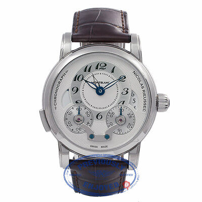 Montblanc Nicolas Rieussec Chronograph Stainless Steel 7138