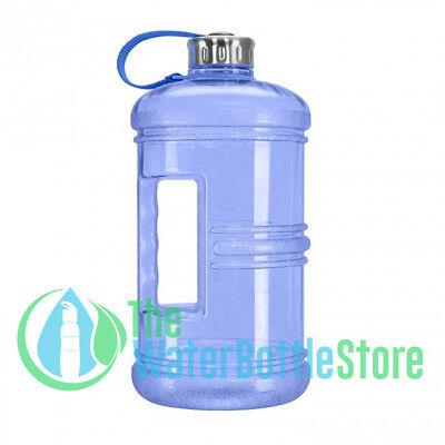 3 Liter BpA Free Reusable Large Water Bottle Jug w/ Stainles