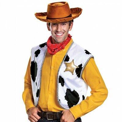 Disguise Toy Story Sheriff Woody Deluxe Erwachsene Herren Halloween Kostüm - Sheriff Woody Kostüm
