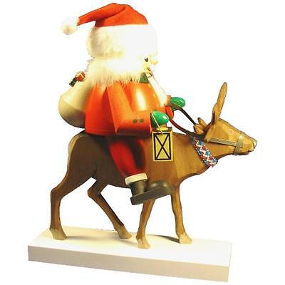 Alexander Taron 52691 Santa and Reindeer Nutcracker Christmas Ornament Statue