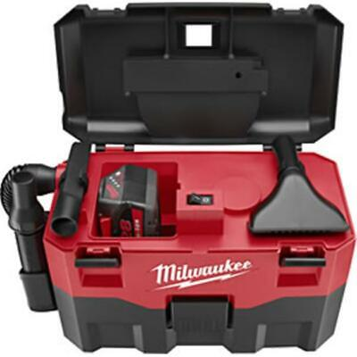 Milwaukee Electric Tool Mlw0880-20 18v Cordless Wetdry Vacuum- Works With An...