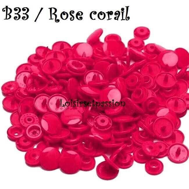 Couleur B33 / ROSE CORAIL