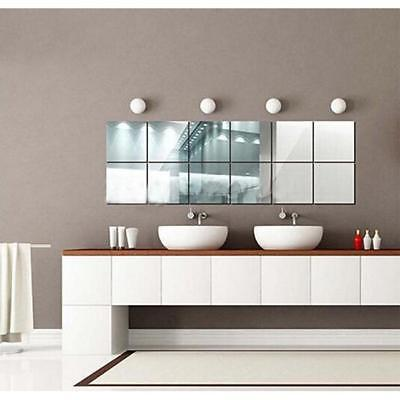 Decorative Mirror Self Adhesive Mosaic Tiles Wall Stickers Decoration Jian