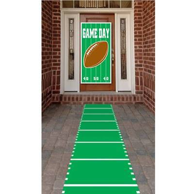 Football Field Polyester Aisle Carpet Runner Football Birthday Party - Runner Football
