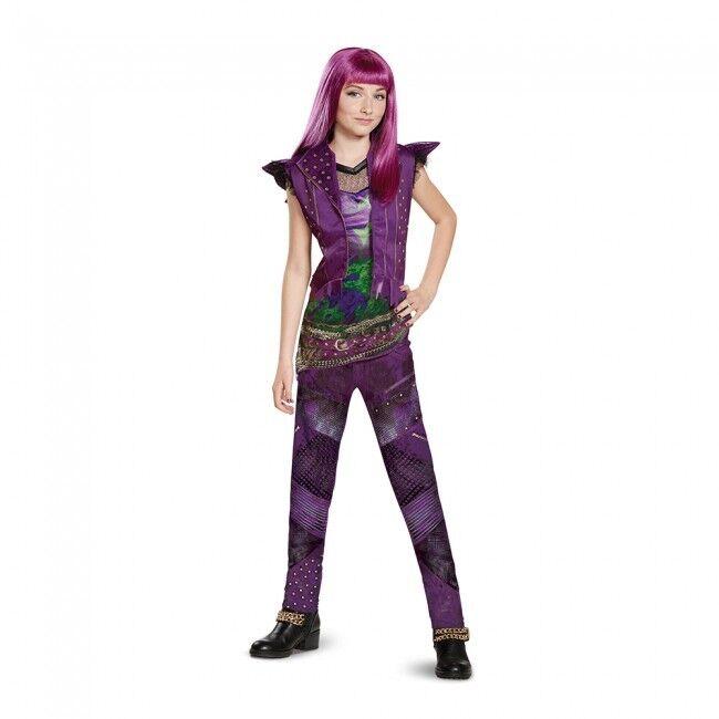 Disguise Disney Descendants 2 Mal Classic Isle Child Halloween Costume 23869