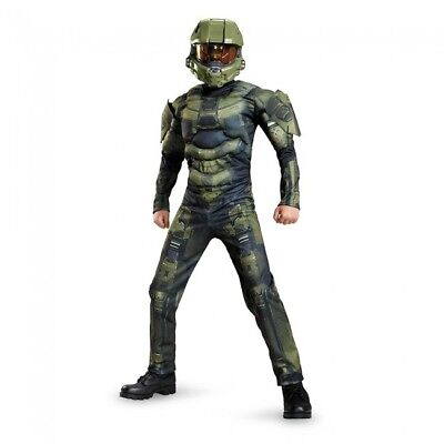 New Halo Master Chief Muscle Child Costume by - Childs Halo Kostüme