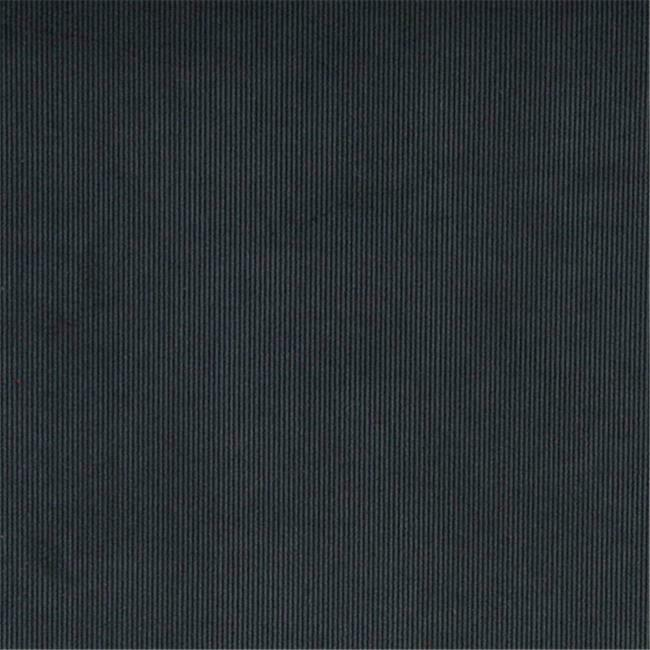 Designer Fabrics C182 54 in. Wide Navy Blue Thin Solid Corduroy Striped Uphol...