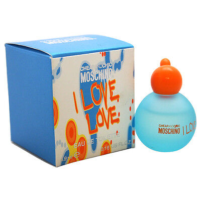 I Love Love Cheap And Chic by Moschino for Women - 4.9 ml EDT Splash (Mini)