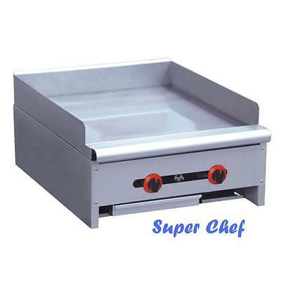 New Griddle Gas 24 Heavy Duty 60000 Btu Stainless Steel Lp Or Nat Gas