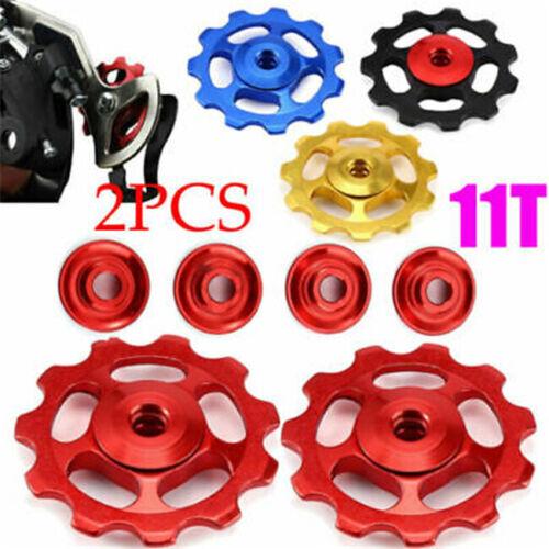 Bike Jockey Wheels Rear Derailleur Pulley 7-11 Speed 12T Bicycle Components