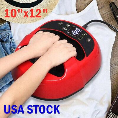 Us Stock Portable Iron T-shirt Heat Press Transfer Printing Machine