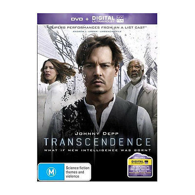 Transcendence DVD  with UV