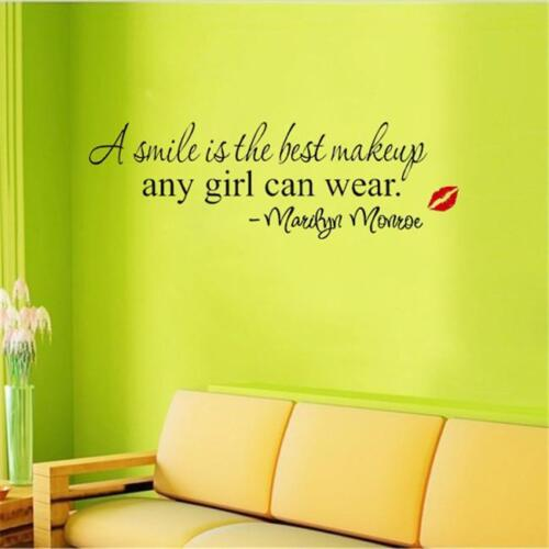 Home Decoration - Home Wall Decor Art Letter Mural Wall Quote Sticker Decals Inspirational MH