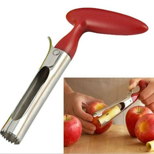 Hot Stainless Steel Kitchen Twist Core Remover Fruit Apple Corer Pear Tools