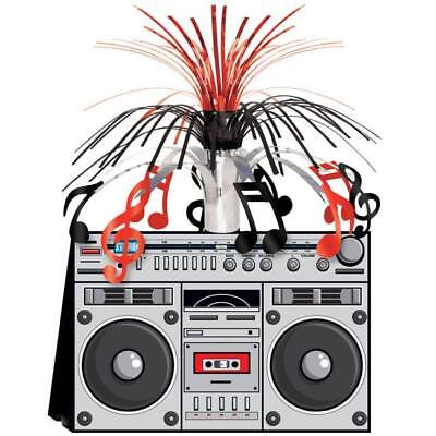 Music Note Centerpiece Decorations (Boom Box Centerpiece Music Notes Party Decoration Dance Prop)