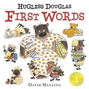 Hugless Douglas First Words von David Melling (2016, Gebundene Ausgabe)