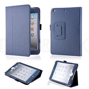 Sleep Wake Magnetic PU Leather Folio Stand Case Smart Cover Holder for iPad Mini