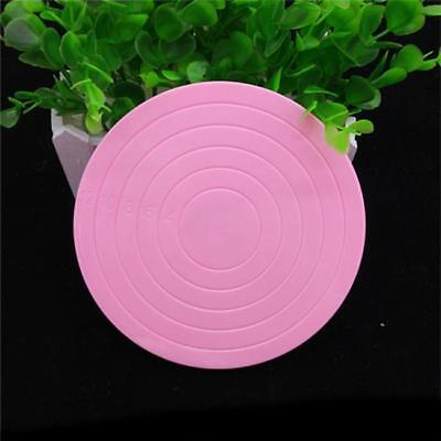 Cake Rotating Revolving Plate Decorating Turntable Display Stand Revolving DB](Plastic Cake Stand)