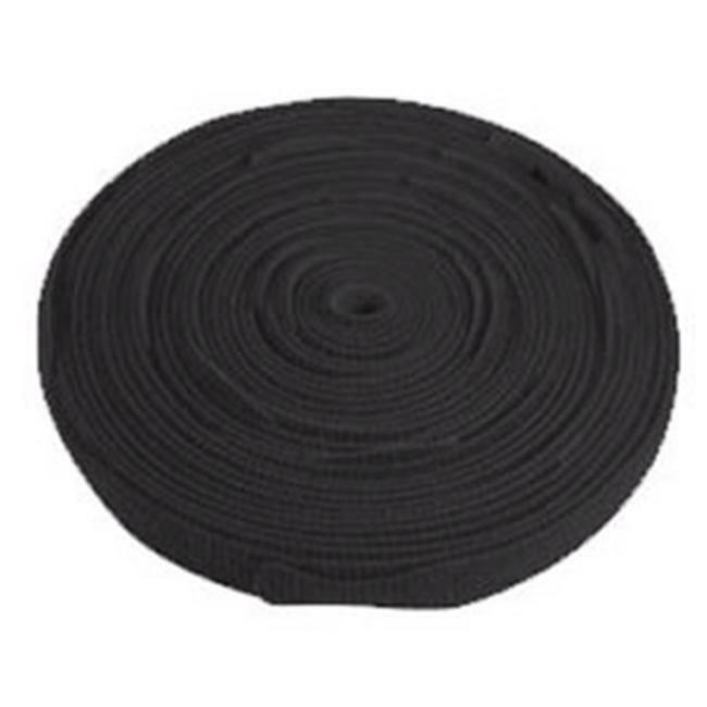 ICC ICACSV75BK Cloth Tie Tie Bulk 75ft - Black