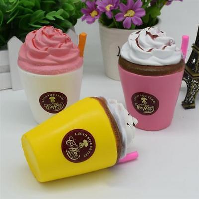 Jumbo Coffee - Jumbo Kawaii Coffee Cup Soft Squishies Slow Rising Cream Scented Fun Kids Toy J