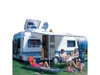 Caravan Fiamma Caravanstore Caravan Zip Canopy 5m in Deluxe Grey