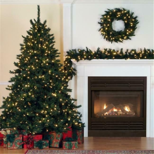 Vickerman A877213 9 ft. x 14 in. Imperial Pine Garland 220 tips