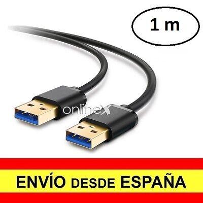 Cable USB 3.0 Macho a USB 3.0 Macho Azul Alta Velocidad 1 Metro Alargador a3009 segunda mano  Embacar hacia Argentina