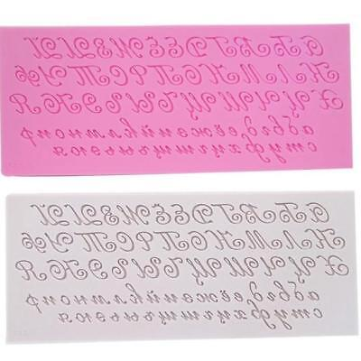 HotShuffle Small Letter Chocolate Decorating Baking Mould
