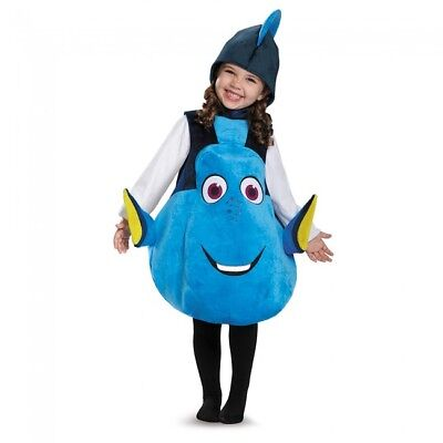 Kleinkind Dory Finding Nemo Disney Klassisch Lizensiert Fisch Kostüm ()