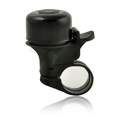 Metal Ring Handlebar Bell horn Sound for Bike Bicycle Black