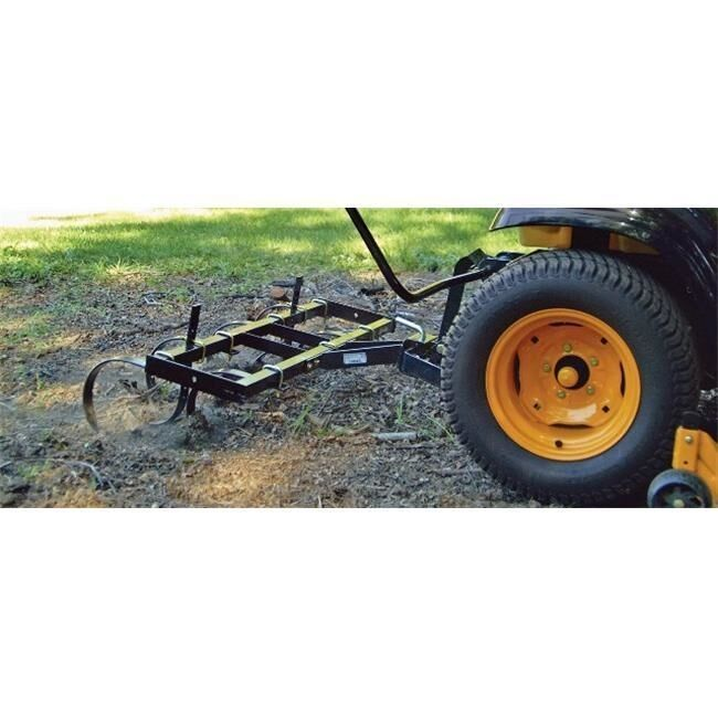 Ground Engaging Attachment Sleeve Hitch Row Crop Cultivator, 15 x 41 x 32 in.