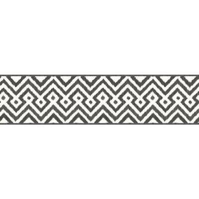 Black And White Borders (Wallpaper Border Black and White Tribal)