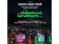 2x SW4(Sunday) - south west 4 tickets for sale