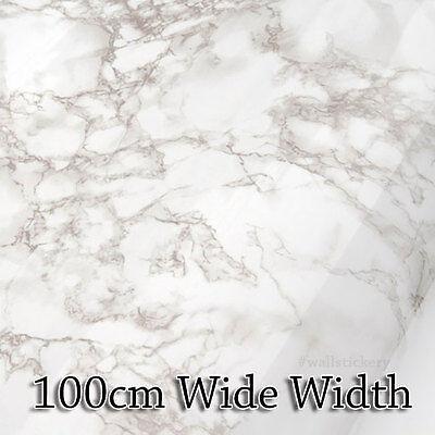 Brown Granite Marble Contact Rolls Paper Countertop Cabinet 100cm Wide Wallpape