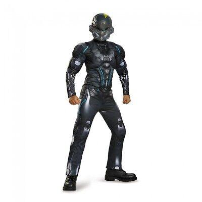 Jungen Kind Halo Loche Spartaner Muskelbrust Kostüm