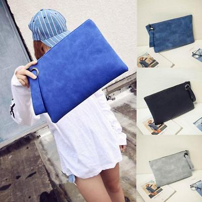 Womens Oversized Clutch Bag Purse PU Leather Evening Wristlet Handbag AL Bag Womens Oversized Handbag