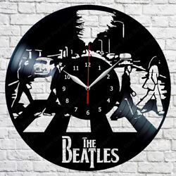 The Beatles Vinyl Record Wall Clock Fan Art Home Decor 12 30cm 385