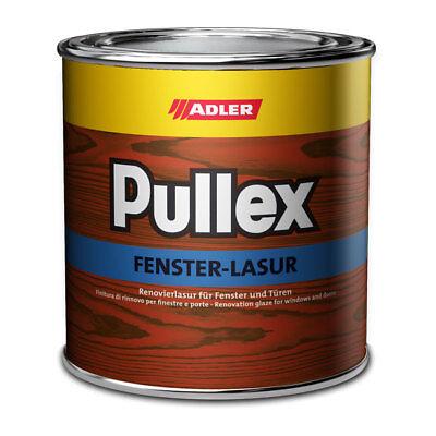 (35.6EUR/1l) ADLER Pullex Fenster Lasur 750ml Witterungsschutz Holzfenster NEU