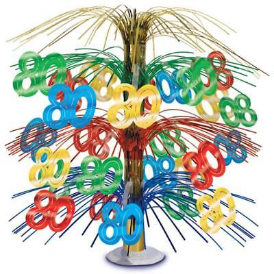 80th Birthday Cascade Centerpiece Party Decoration - 80th Birthday Party