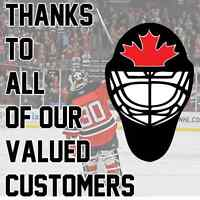 Customer Appreciation Month @ On Ice Goaltending School