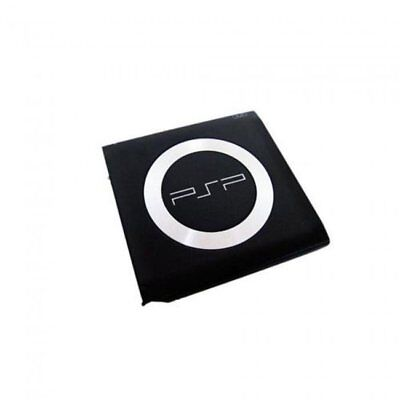 2X Fat PSP 1000 UMD Door Cover Black Replacement for Sony PSP 1000 Series System ()