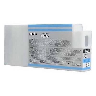 AUTENTICO EPSON T5965 LUCE Ciano Cartuccia per stilo Pro Stampanti C13T596500
