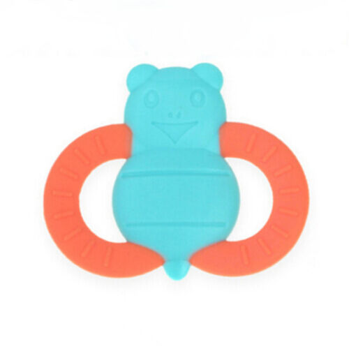 Fish Shape Baby Chew Teether Toys Silicone Teething Pendant Necklace BPA Free Z