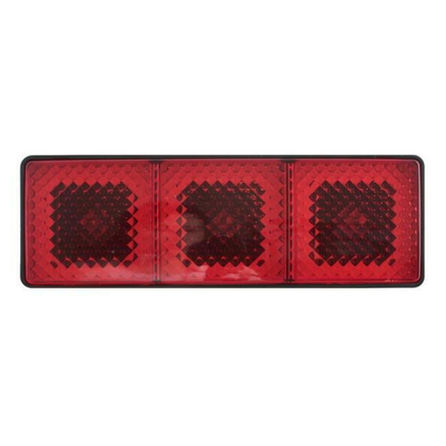 Pilot Automotive CR-007XL Extra Large Hitch Brake Light Stop Run & Turn Lights