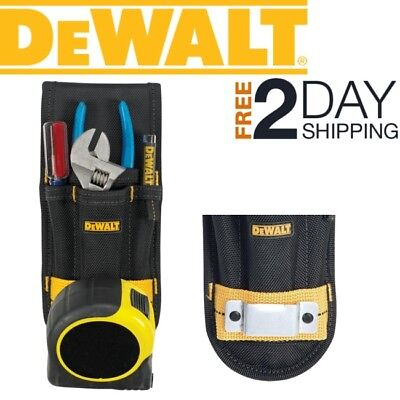 Measure Tape Holder For Belt Small Tool Pouch Carrier Clip Tools Holding Pocket (Measuring Tape Holder)