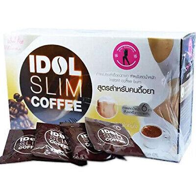 Idol Slim Coffee Weight Fat Burn Drink Diet Loss Fit Fruit Block Lose Body 2 Box